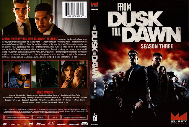 From Dusk Till Dawn Season 3 DVD Cover