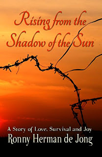 RISING FROM THE SHADOW OF THE SUN - a Historical Memoir of WWII in rthe Pacific book promotion by Ronny Herman de Jong
