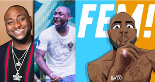 "Davido's new song ""FEM"" surpasses 1 million views on YouTube, peaks at number 1 on Apple Music in 9 hours"