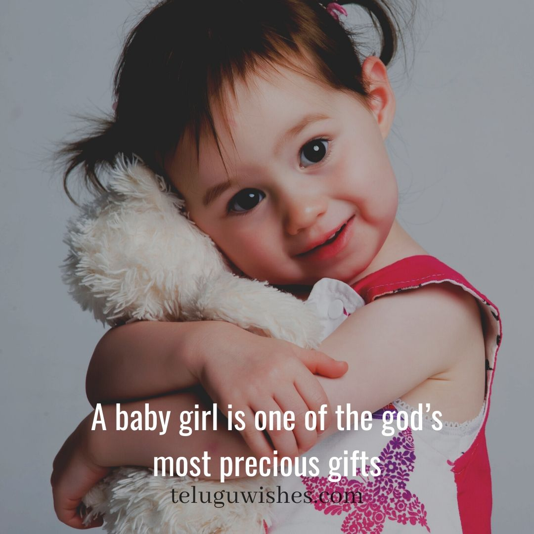 a girl is one of the gods precious gifts