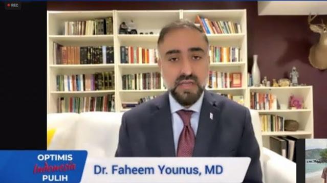 Dokter Faheem Younus: Terapi Plasma Konvalesen Tak Bermanfaat Buat Pasien Covid-19