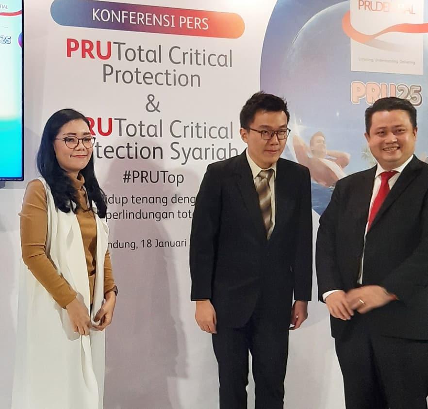 Bagaimana cara perlindungan terhadap penyakit kritis melalui Prudential?, peluncuran PRUTop dan PRUTop Syariah di Bandung