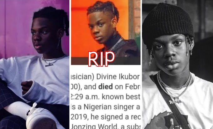 Is the rumor True / false Rema's Death