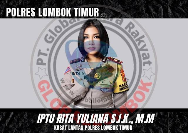 Dipindah Ke Lombok Timur ,Iptu Rita : Bukan Untuk Dilayani Melainkan Melayani Masyarakat