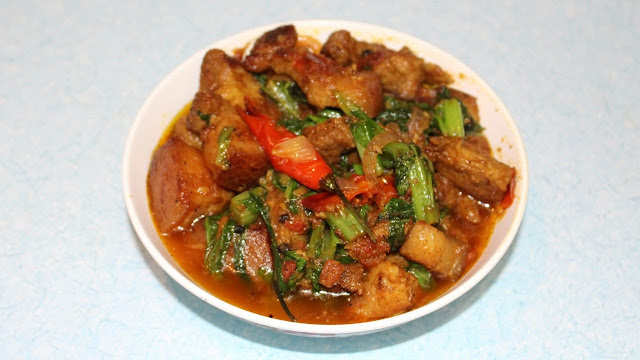 Nepali style pork curry