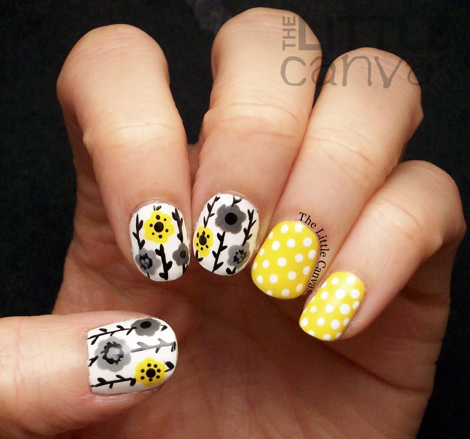Twinsie Tuesday: Yellow Nails