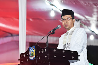 Gubernur Zul Keluarkan SE Sholat Fardhu Berjamaah Di Masjid Bagi ASN