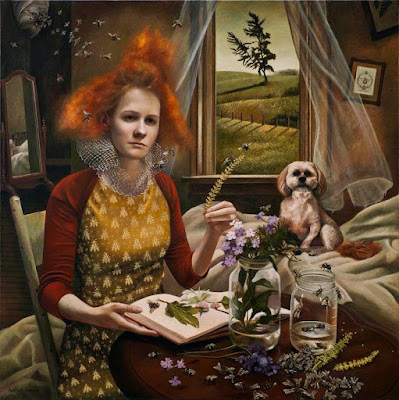 Queen's Court, Andrea Kowch