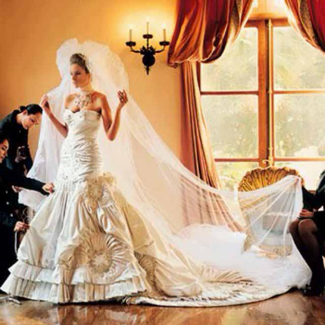 Melania Trump vestido de noiva