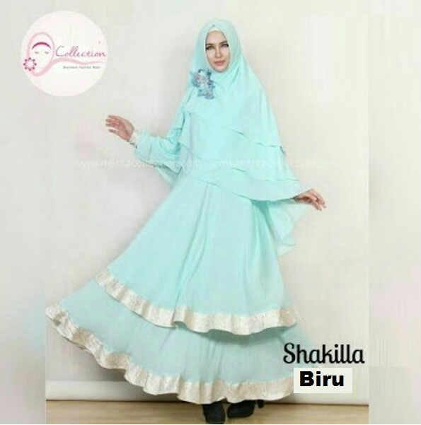 Pusat Grosir Baju Wanita Gamis Muslimah Shakilla Syarie