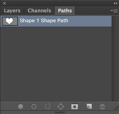 paths shape photoshop