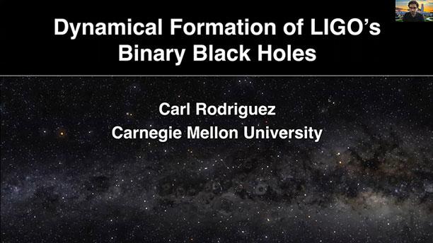 Dynamical formation of black holes (Source: Carl Rodriguez, CMU @ 52nd DDA meeting)