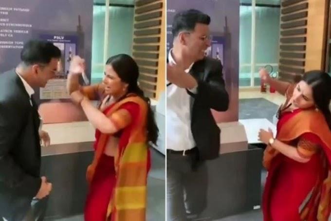 VIDEO : विद्या ने अक्षय को ऐसी जगह पर मारी लात कि खड़े नहीं हो पाए खिलाड़ी कुमार
