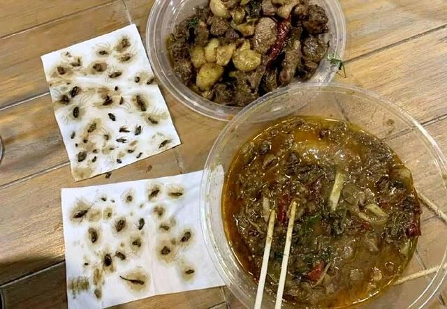 40 Kecoak ditemukan di dalam sup bebek