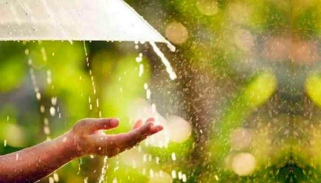बारिश की पहली बुँदे