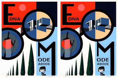 "The Incredibles ""Edna Mode Abode"" Screen Print by Teddy Newton x Cyclops Print Works"