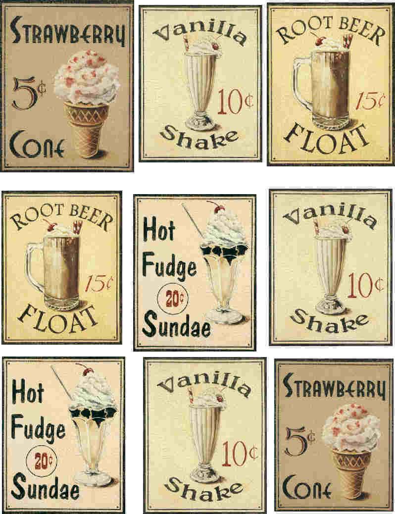 the digital bakery ♥: Vintage labels voor op flessen ...