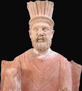 Baal-Hammon, the chief god of Carthage