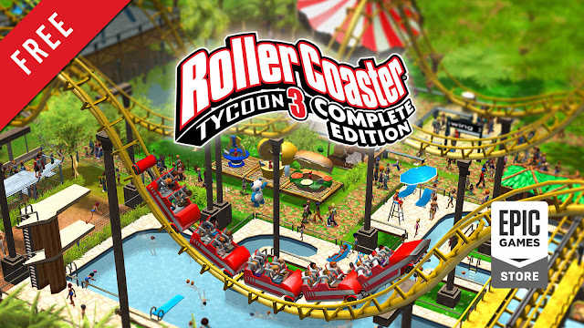 rollercoaster tycoon 3 complete edition free pc game epic games store simulation game frontier developments
