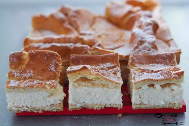 ciasta i desery, karpatka, krem budyniowy, ciasto z kremem, pyszne ciasto, domowa karpatka, ciasto karpatkowe, prosty przepis na ciasto,