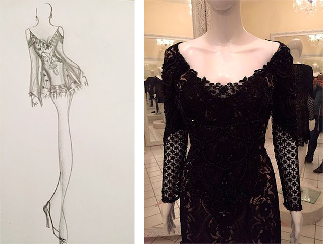 Solange Couto, festa 60 anos estilo debutante, vestido para balada preto, estilista Paulo Lemmer