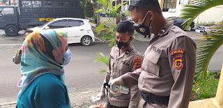 Wartawan Ikuti Protokol Kesehatan Dalam Kegiatan Pres Rilis  Akhir Tahun Bersama Kapolda Jambi.