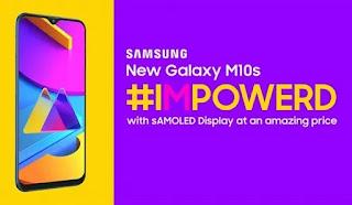 Samsung Galaxy M10s Dapat Upgrade Banyak, Bisa Buat nge-Game?