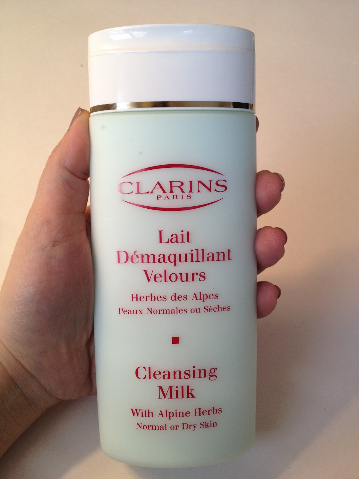 Cleansing Milk with Alpine Herbs Moringa by Clarins #7