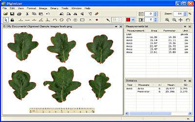 Digimizer - Logiciel d'Analyse d'images sur Windows