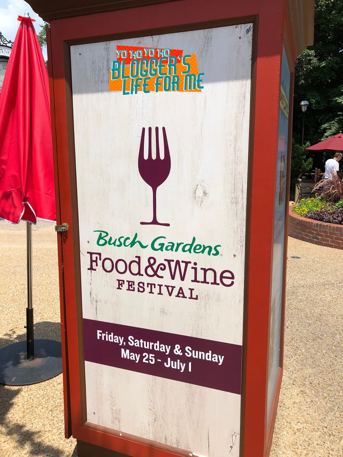 We Actually Went To The Very First Food U0026 Wine At Busch Gardens Williamsburg  Quite A Few Years Ago U0026 Were Very Impressed Then U0026 Am Still Impressed Now.