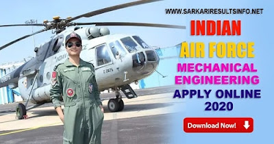 IAF: Indian Air Force 2020 Batch Result | AFCAT 01/2020