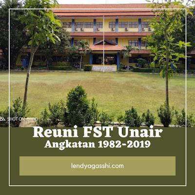 Kampus FSaintek Universitas Airlangga Surabaya