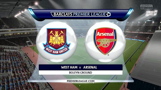 Prediksi Pertandingan Liga Inggris West Ham United vs Arsenal