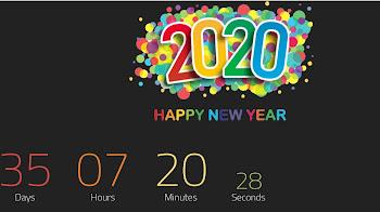 Share Template Đếm Ngược Tết Canh Tý 2020 Vesion 6