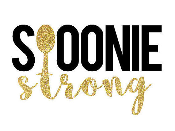 Spoonie Strong decal - Spoonie Gift Guide