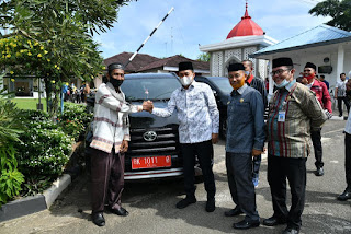 Bupati Berikan Fasilitas Transportasi Bagi Ormas Keagamaan dan Kepemudaan Di Batu Bara