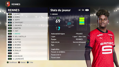 PES 2021 Faces Yann Gboho