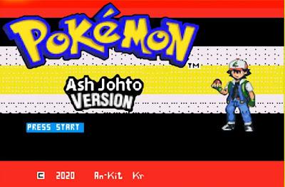 Pokemon Ash Johto para GBA Imagen Portada