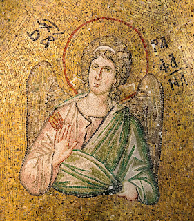 ancient, angel, archangel, architecture, art, byzantine, church, editorial, golden, heritage, historic, holy, istanbul, medieval, mosaic, pammakaristos, raphael, religion, saint, st, turkey, https://www.shutterstock.com/image-photo/byzantine-mosaic-archangel-raphael-blessing-his-569610724