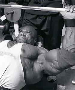 تمارين عضلات الصدر رونى كولمان
