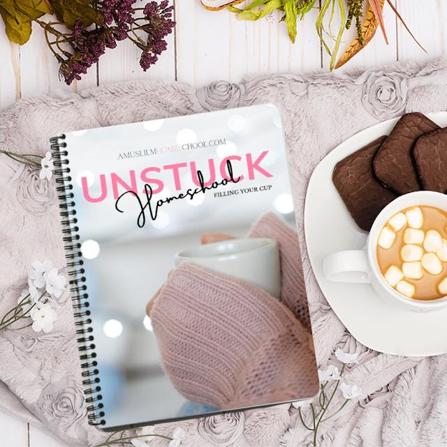 Homeschool Unstuck coaching workbook