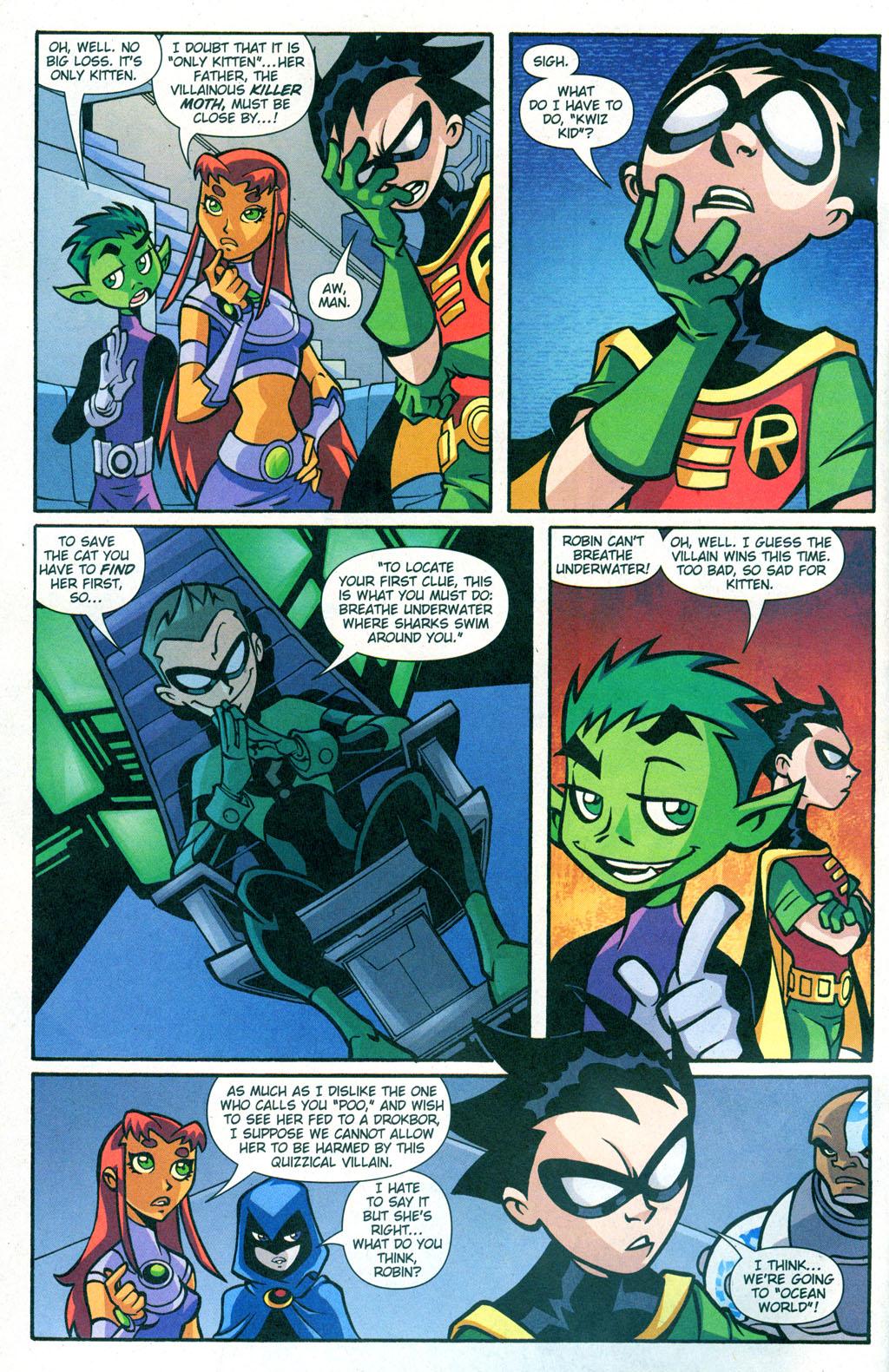 Teen Titans Quizzes 95
