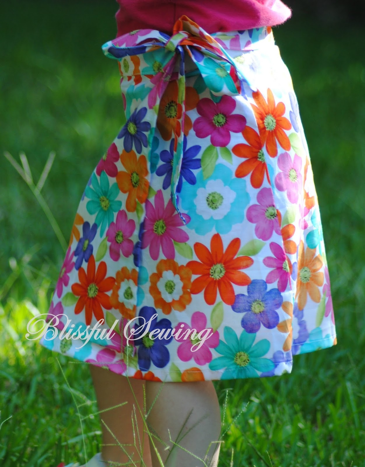 Sewing Patterns for Girls Dresses and Skirts: Sewing Pattern Wrap On ...