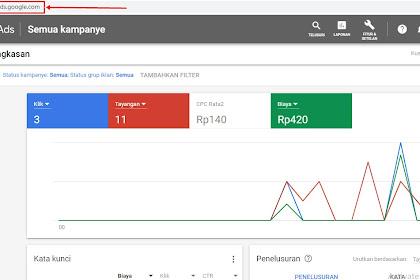 Cara Mudah Mengisi Saldo Google Ads (Google Adwords)