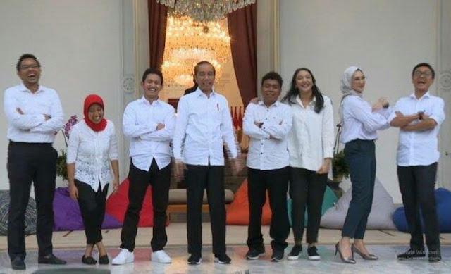Digaji Rp 51 Juta, Stafsus Jokowi Bebas Bekerja