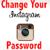 Change Password for Instagram