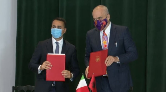 Il piano italiano per Albania / Rama e Di Maio firmano per rafforzare la cooperazione economica