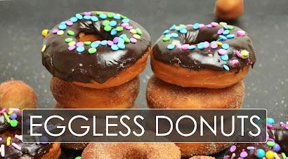 eggless cake donuts