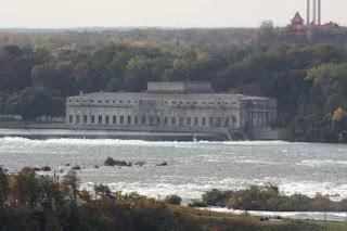 Old Power Plant In Niagara Falls.