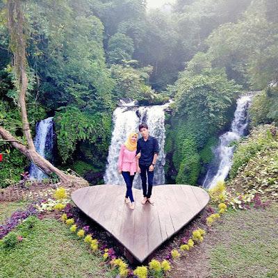 Lokasi Curug Jenggala Baturaden, Air Terjun Romantis Di Banyumas Jawa Tengah